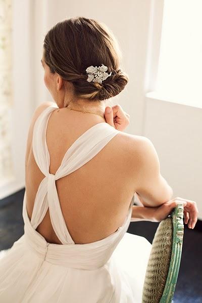 Doing Your Own Wedding Hair : Penteados simples e lindos